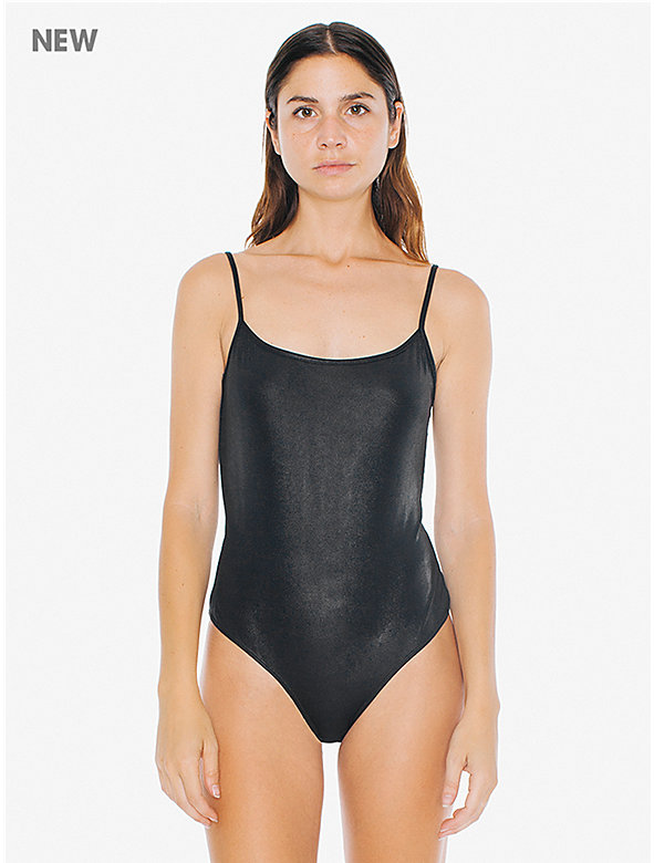 Metallic Jersey U Back Bodysuit