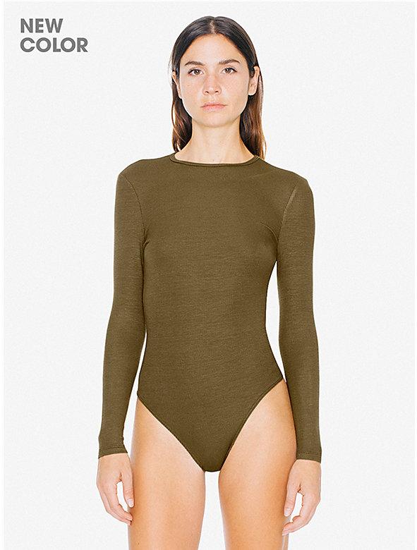 2x2 Rib Long Sleeve Cutout Bodysuit