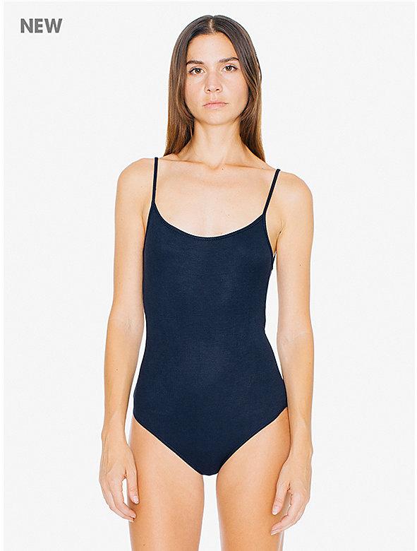 2x2 Rib U Back Bodysuit