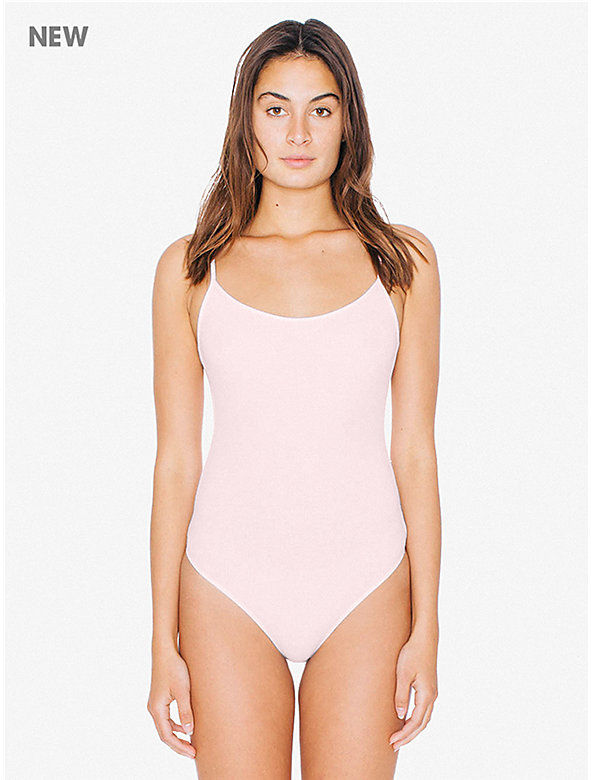 2x2 Rib U Back Bodysuit