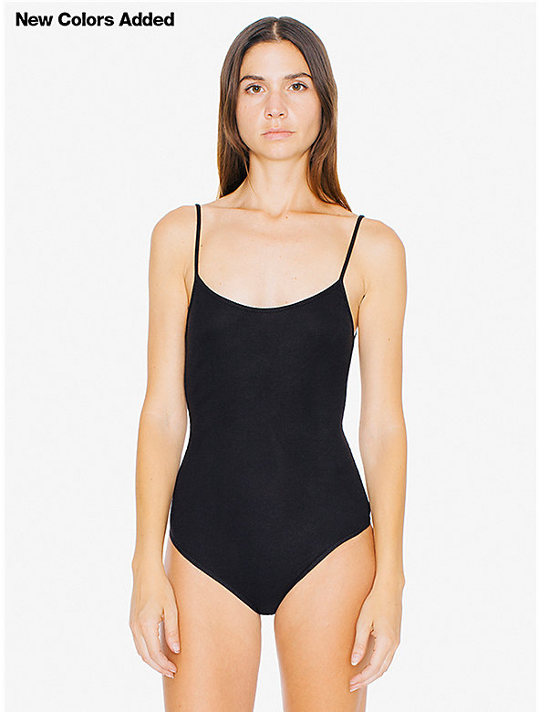 2x2 Rib Scoop Back Bodysuit
