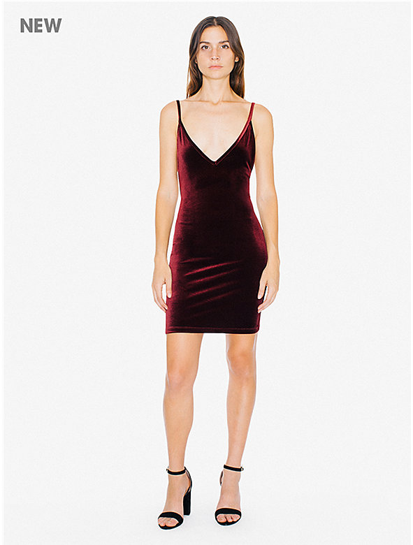 Velvet Bixel Dress