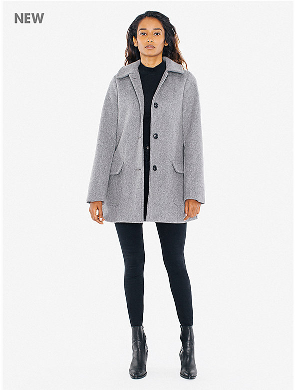 Wool Audrey Coat