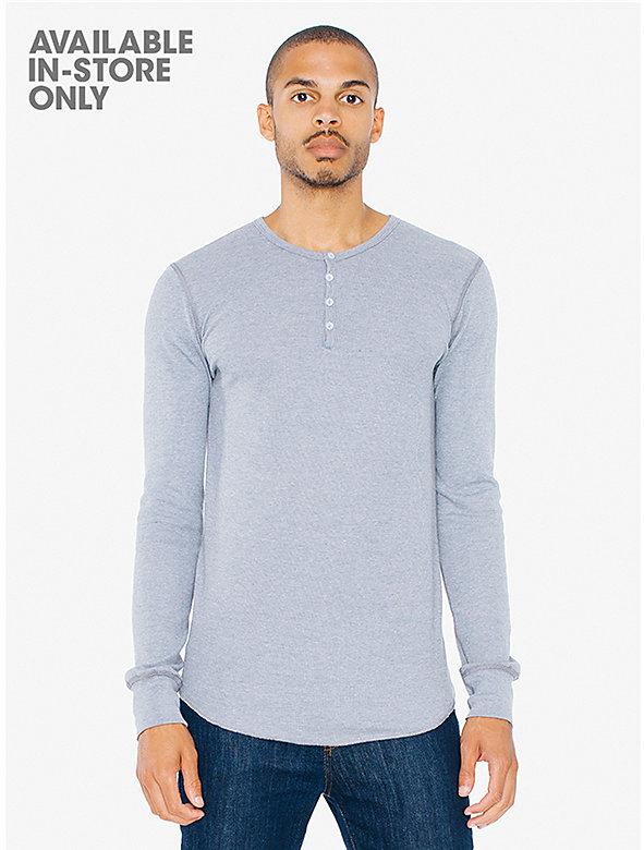 Baby Thermal Henley Long Sleeve T-Shirt