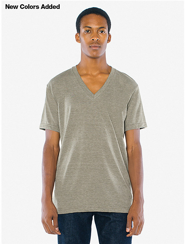 Unisex Tri-Blend V-Neck T-Shirt