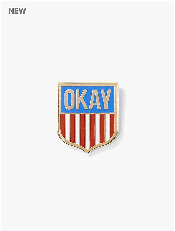 Valley Cruise 'OKAY!' Pin