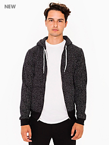 Printed Flex Fleece Printed Zip Hoodie