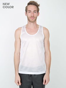 Poly Mesh Athletic Tank