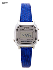 Lizard Blue Leather Limited Edition Wristwatch LA670WA-7D