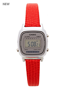 Lizard Red Leather Limited Edition Wristwatch LA670WA-7D