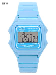 Q&Q Men's Digital Wristwatch - Baby Blue