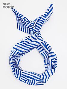 Printed Rayon Twist Scarf
