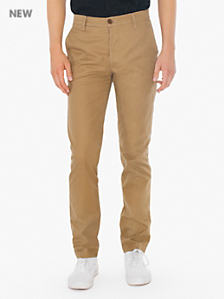 Cotton Twill Slim Fit Chino