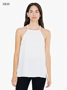 High Neck Strappy Cami