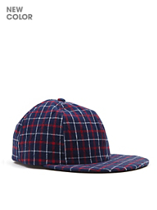 Quilted Flannel Hat