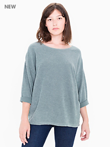 French Terry Easy Sweater