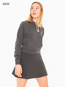 French Terry Sporty Mini Skirt