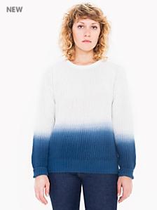 Unisex Ombre Fishermen's Pullover