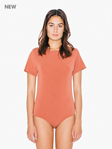 Brushed Jersey T-Shirt Bodysuit