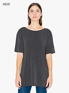 Brushed Jersey Open Back Tee