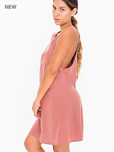 Faux Silk Olivia Dress