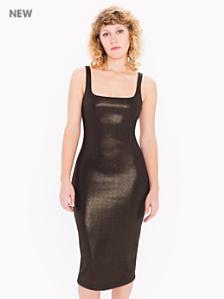 Ponte Foil Tank Dress