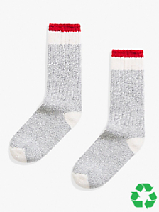 Recycled Yarn Boot Sock