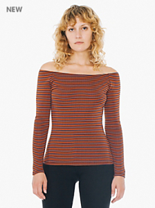 Knitted Carmen Top