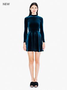 Velvet Violette Skater Dress