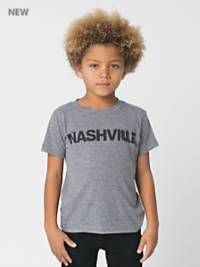 Kids' Nashville Screen Printed Tri-Blend T