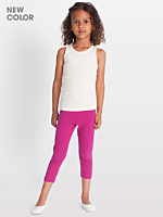 Kids Cotton Spandex Jersey Legging