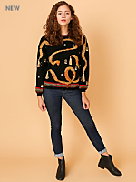 Vintage Tassels & Gold Coins Wool Sweater
