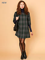 California Select Originals Tartan Tent Dress