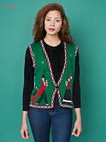 Vintage Traditional Christmas Sweater Vest