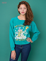California Select Originals Am I Cool or What? Cropped Sweatshirt