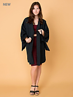 Vintage Variegated Haori Kimono Jacket
