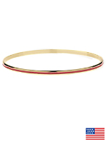 Fuchsia Bangle Bracelet