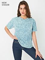 Unisex Acid Wash Short Sleeve Hammer T-Shirt
