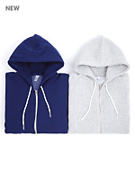 Salt and Pepper Zip Hoodie and Nantucket Fleece Zip Hoodie (2-Pack)