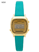 Lizard Green Leather Limited Edition Wristwatch LA670WG-9D