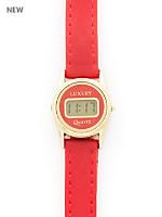 Red Luxury Mini Wristwatch