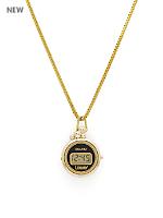 Luxury Pendant Watch - Gold Circles
