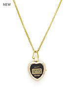 Luxury Pendant Watch - Gold Heart