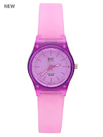 Q&Q Women's Analog Wristwatch - Purple