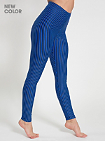 Stripe Nylon Leggings