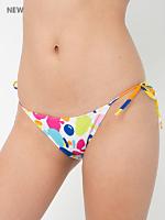 Printed Biarritz String Bikini Bottom