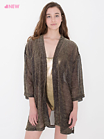 The Metallic Luxe Robe