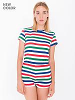 Printed T-Shirt Romper