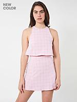 The Grid Print Lulu Mini Skirt