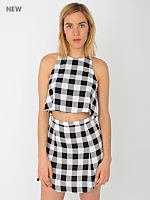 The Plaid Print Lulu Mini Skirt